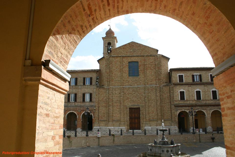Risultati immagini per treia chiesa di san filippo cappella di sant'antonio abate